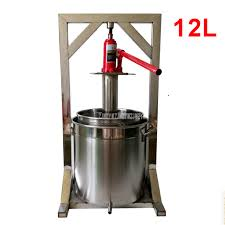 <b>12L</b> Capacity Fruit Juice Cold Press Juicing Machine 304 <b>Stainless</b> ...
