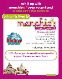 wahoo swim team menchies flyer menchie s fundraising flyer 06 22 2013