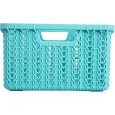 <b>Корзинка для хранения</b> «<b>Вязание</b>», 1.5 л, цвет морская волна в ...