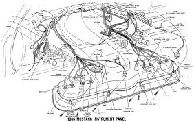 1966 mustang wiring diagrams average joe restoration 1966 mustang instrument panel