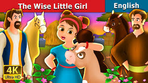 <b>The</b> Wise <b>Little Girl</b> Story in English | Bedtime Stories | English <b>Fairy</b> ...