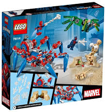 <b>Конструктор LEGO</b> Marvel Super Heroes 76114 <b>Паучий вездеход</b>