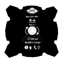 <b>Ножи для триммеров DDE</b> купить в Пскове по доступным ценам