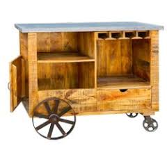 Wooden <b>Kitchen Trolley</b> at Best Price in India