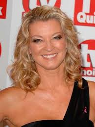 Gillian Taylforth, seen here 2008, loves the red carpet wavy look - Gillian-Taylforth-Waves