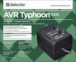 <b>Стабилизатор напряжения Defender AVR</b> Typhoon 1000 99033 ...