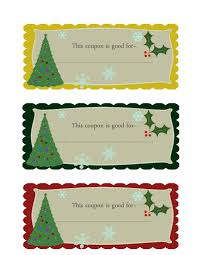 christmas coupons template images christmas coupons template