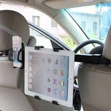 Universal <b>2 In 1 Car</b> Phone Tablet PC Mount Holder For Back Seat ...