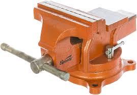 <b>Слесарные</b> поворотные <b>тиски</b> 125 мм с наковальней <b>SPARTA</b> ...