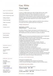 travel agent resumetravel agent cv sample junior travel consultant resume