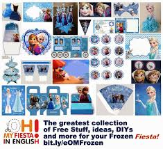 frozen party printable invitations is it for parties is check out the whole frozen printable kit
