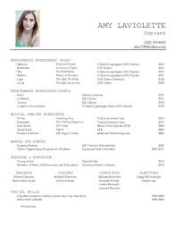 performance resume   out of darknessamy laviolette performance resume