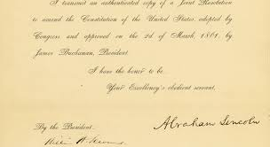 the ghost amendment that haunts lincoln s legacy cognoscenti the ghost amendment that haunts lincoln s legacy