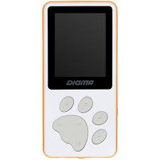 Купить <b>MP3</b>-<b>плеер Digma S4</b> 8Гб, белый в интернет магазине ...