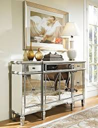 images hollywood regency pinterest furniture: hollywood regency mirrored console cabinet dresser table bedroom furniture glam mirror magic mesmerized pinterest
