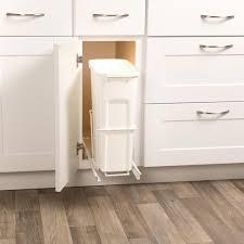 Kitchen Cabinet Garbage Drawer Trash Recycling Cans Kitchen Organization Kitchen Storage
