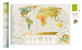 ROZETKA | Скретч-<b>карта</b> мира <b>1DEA</b>.<b>me Travel</b> Map Geography ...