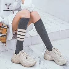 <b>1 Pair</b>/<b>lot</b> 2018 <b>Autumn</b> Winter New Striped Sock for Women Fashion ...