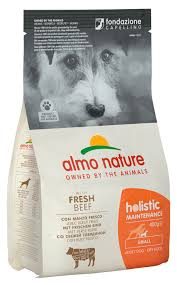 <b>Holistic</b> Maintenance With Fresh Beef XS-S for dogs - <b>Almo Nature</b> ...