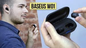 БЕСПРОВОДНЫЕ <b>НАУШНИКИ BASEUS</b> W01 - ОБЗОР и опыт ...