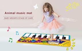 70*30cm Kids <b>Music</b> Carpet Touch <b>Musical</b> Play <b>Mat</b> Electronic ...