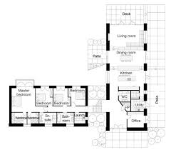 U shaped houses  House plans and L shaped house on PinterestStock Houseplans  Plan Houseplans  Baths   L Shaped House Floor Plans  Bungalow Floor Plans  Ranch House Plans  Open Floor Plans  Plan   Plan