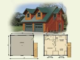 Luxury Log Cabin Floor Plans Log Cabin Floor Plans   Garage