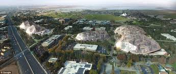 large translucent canopies will cover each site controlling the climate inside yet letting in light big heatherwick futuristic google hq
