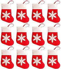 Amazon.com: San Tokra <b>12Pcs Christmas</b> Socks <b>Decoration</b> ...