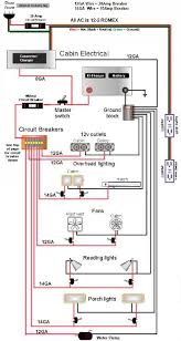rv dc volt circuit breaker wiring diagram power system on an wiring diagram