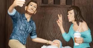 Weird Nativity Scenes Depict Jesus