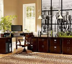 traditional home office with capel rugs expedition leopard rug bedford smart technology corner desk hutch animal hide rugs home office traditional