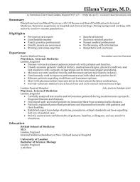 medical resume examples medical sample resumes livecareer doctor resume example