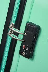 Дорожный <b>мятный</b> чемодан из поликарбоната средний ...