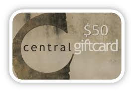 GIFT CARDS — Central