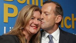 17 things Kevin and Tony have learned on the campaign trail - 716718-tony-abbott-awkward-kiss