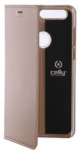 <b>Чехол</b>-<b>книжка Celly</b> Air Case для <b>Huawei</b> Honor 8 золотой ...