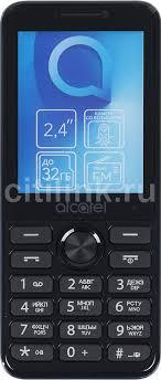 Купить Мобильный <b>телефон ALCATEL</b> OneTouch <b>2003D</b>, синий в ...
