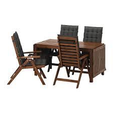ЭПЛАРО Стол+4 кресла, д/сада - Эпларо коричневая морилка ...