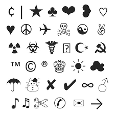 Typograph Art/Emoticons/Symbols on Pinterest | Emoticon, Symbols ... via Relatably.com