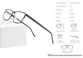 Pure Titanium Prescription Glasses Frame Men 2019 New Eye ...