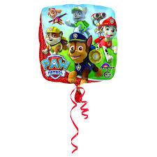 """Воздушный шарик из фольги <b>Подушка</b> Щенячий патруль 18""""/45см"""