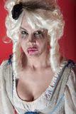 Reizvolle Frau Kostüm Und Der Perücke Im <b>Maria-Antoinette</b> Stockfotografie <b>...</b> - frau-gekleidet-als-marie-antoinette-17158071