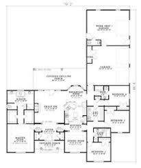 Craftsman European House Plan   House plans  Timber Beams    I like some of this floor plan