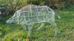 <b>Фигуры</b> для сада: животные - <b>кабан</b> – заказать на Ярмарке ...