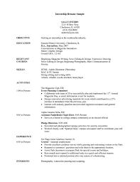 extra curricular activities resume examples employment click view extra curricular activities resume examples internship resume examples getessayz internship resume sample xpr