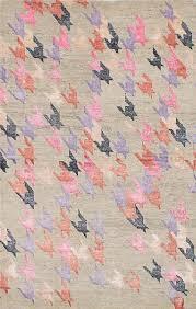 Hand-knotted La <b>Seda Light</b> Khaki Wool/Silk Rug | Textured carpet ...