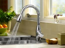 Stainless Steel Kitchen Faucets American Standard 4175300075 Colony Soft Pull Down Kitchen