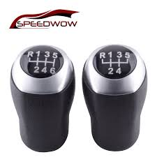 <b>SPEEDWOW</b> Car <b>Gear Stick Shift Knob</b> MT Leather <b>Shifter Lever</b> ...