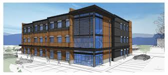 kendall yards is planning to build a new office building by the intersection of jefferson bridge ave construction will likely start in the spring with build a office
